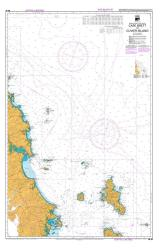 CAPE BRETT TO CUVIER ISLAND (52) by Land Information New Zealand (LINZ)