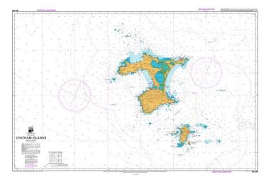 CHATHAM ISLANDS (268) by Land Information New Zealand (LINZ)
