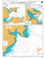 PLANS BETWEEN WHANGAMUMU AND OMAHA COVE: OMAHA COVE / TUTUKAKA HARBOUR  (5212) by Land Information New Zealand (LINZ)
