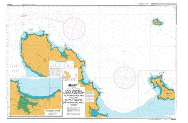 CAPE COLVILLE TO GREAT MERCURY ISLAND (AHUAHU) INCLUDING CUVIER ISLAND (REPANGA ISLAND) (5312) by Land Information New Zealand (LINZ)