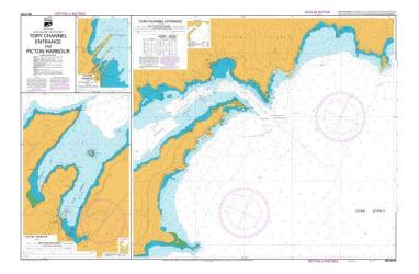 TORY CHANNEL ENTRANCE AND PICTON HARBOUR (6154) by Land Information New Zealand (LINZ)