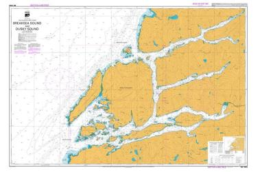 BREAKSEA SOUND AND DUSKY SOUND (7653) by Land Information New Zealand (LINZ)