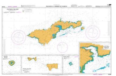 ISLANDS IN AMERICAN SAMOA: TUTUILA ISLAND (8685) by Land Information New Zealand (LINZ)