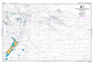SOUTH PACIFIC OCEAN (WESTERN PORTION) (14061) by Land Information New Zealand (LINZ)