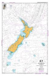 NEW ZEALAND INCLUDING NORFOLK ISLAND AND CAMPBELL ISLAND / MOTU IHUPUKU (14600) by Land Information New Zealand (LINZ)
