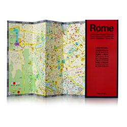 Rome, Italy by Red Maps