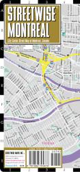 StreetWise Montreal, Canada by Streetwise Maps, Inc