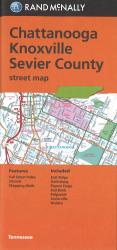 Chattanooga, Knoxville and Sevier County, Tennessee Street Map by Rand McNally
