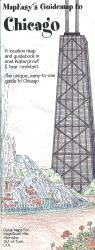 Chicago, Illinois Mini Guidemap by MapEasy, Inc.