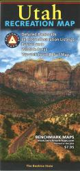 Utah Recreation Map by Benchmark Maps