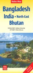 Northeast India with Bangladesh and Bhutan by Nelles Verlag GmbH