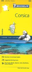 Corsica (345) by Michelin Maps and Guides