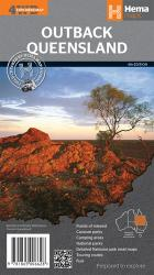 Queensland, Australia, Outback by Hema Maps