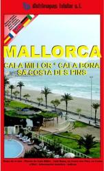 Majorca, Cala Millor and Cala Bona, Spain by Distrimapas Telstar, S.L.