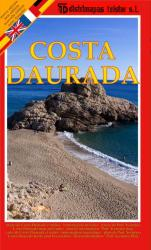 Daurada Coast, Spain by Distrimapas Telstar, S.L.
