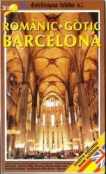 Barcelona, Gothic & Romantic Architecture by Distrimapas Telstar