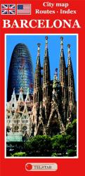 Barcelona, Tourist Map (English Edition) by Distrimapas Telstar, S.L.