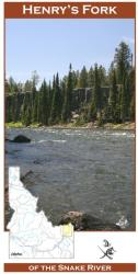 Henry's Fork River Fishing Map by Wilderness Adventures Press
