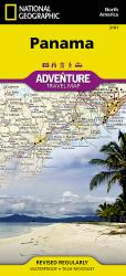 Panama Adventure Map 3101 by National Geographic Maps