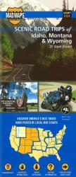 Idaho, Western Montana and Northwest Wyoming, Regional Scenic Tours by MAD Maps