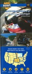 Wisconsin and Michigan, Regional Scenic Tours by MAD Maps