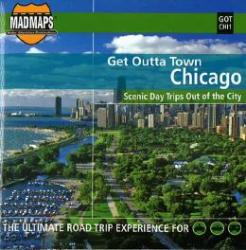 Chicago, Illinois, Get Outta Town by MAD Maps