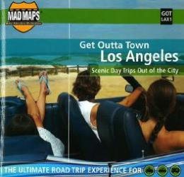 Los Angeles, California, Get Outta Town by MAD Maps
