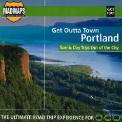 Portland, Oregon, Get Outta Town by MAD Maps