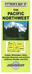 Pacific Northwest by Pittmon Map Company