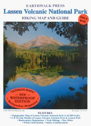 Lassen Volcanic National Park, California, waterproof by Earthwalk Press