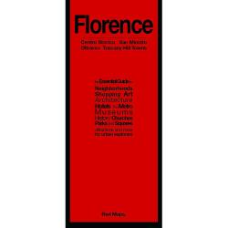 Florence, Italy: Centro Storico, San Miniato : Oltrarno, Tuscany Hill Towns by Red Maps