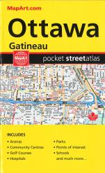 Ottawa and Gatineau Pocket Street Atlas by Canadian Cartographics Corporation