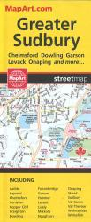 Sudbury Map by Canadian Cartographics Corporation