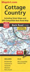 Muskoka, Huntsville, Cottage Country : Back Road Map by Canadian Cartographics Corporation