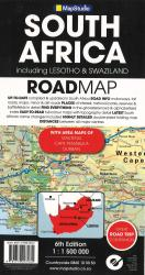 South Africa Road Map by Map Studio