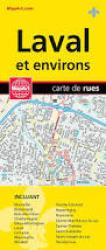 Laval and Surroundings, Quebec City/Street Map by Canadian Cartographics Corporation