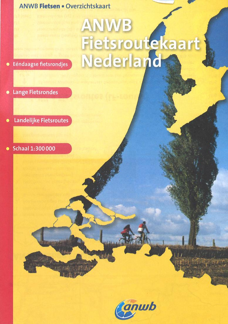 Netherlands Cycling Map by ANWB Wegenatlas