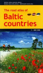 Road Atlas of Baltic Countries by Jana Seta