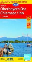 Chiemsee / Inn Salzkammergut Germany Cycling Map sheet 27 by Allgemeiner Deutscher Fahrrad-Club
