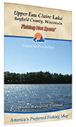 Upper Eau Claire Lake (Bayfield Co) Fishing Map by Fishing Hot Spots