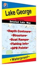 Lake George Fishing Map (Florida) by Fishing Hot Spots
