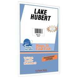 Lake Hubert Fishing Map by Fishing Hot Spots