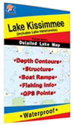 Lake Kissimmee Fishing Map by Fishing Hot Spots