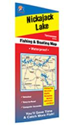 Nickajack Lake Fishing Map by Fishing Hot Spots