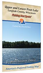 Post Lakes-Upper/Lower (Langlade Co) Fishing Map by Fishing Hot Spots