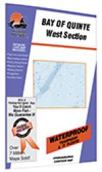 Bay of Quinte-W (Trenton to Telegraph Narrows) Fishing Map by Fishing Hot Spots