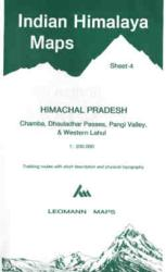Indian Himalaya, Jammu & Kashmir sheet 4 - Chamba, Dhauladhar, West Lahul by West Col Productions