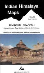 Indian Himalaya, Jammu & Kashmir sheet 6 - Kalpa-Kinnaur, Spiti, Simia by West Col Productions