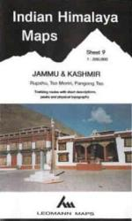 Indian Himalaya, Jammu & Kashmir sheet 9 - Rupshu, Tso Moriri, Pangong Tso by West Col Productions