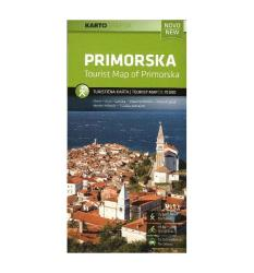 Primorske Tourist Map 1:75,000 by Kartografija